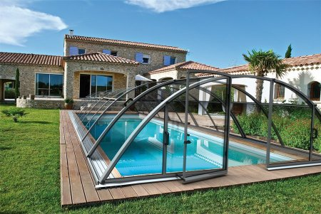 abri kit piscine